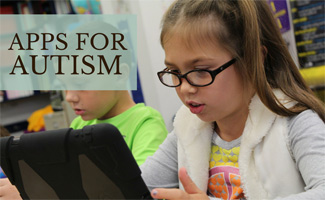 Kids on ipad playing app: Apps for Autism