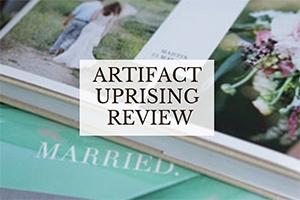 Artifact Uprising book (caption: Artifact Uprising review)