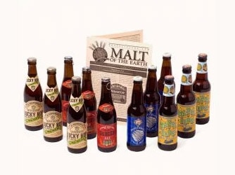 U.S. And International Variety Beer Club bottles