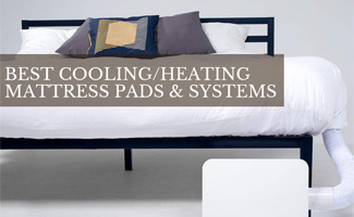 Mattress with cooling system (caption: Best Cooling (Or Heating) Mattress Pads And Systems)