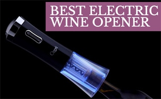 Electric wine opener, caption: Best Electric Wine Opener