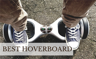 Man on hoverboard (caption: Best Hoverboard)