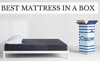 Casper mattress and box (caption: Best Mattress In A Box)