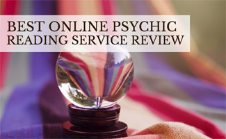 Crystal ball on table: Best Online Psychic Reading Service