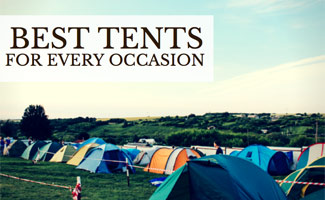 Row of tents: Best Tents for Every Occasion