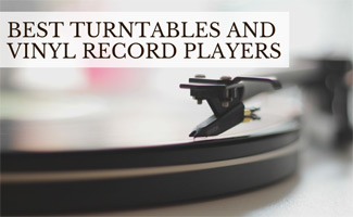 Turntable on table (caption: Best Turntables And Vinyl Record Players)