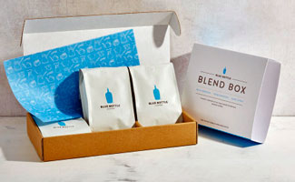 Open Blue Bottle Coffee Box
