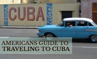 Car on streetn in Cuba