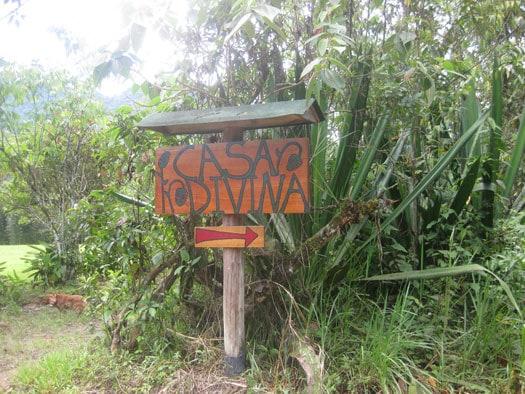 Casa Divina sign