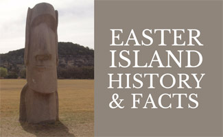 Moai head & Easter Island Facts and the History