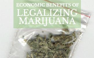 Legalizing Marijuana Economic Benefits: bag of weed