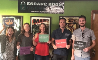 Our Team at Escape Room Cleveland