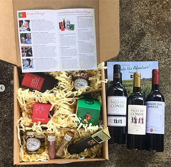 Gold Medal Wine Club box and wines