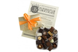 The Gourmet Chocolate of the Month Club box