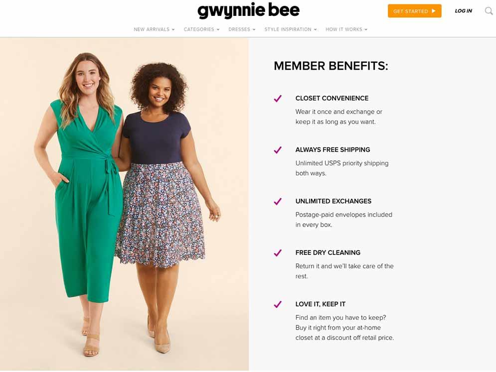 Gwynnie Bee how it works