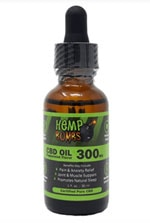 Hemp Bombs oil bottle