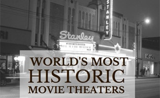 Old theater: World's Most Historic Movie Theaters