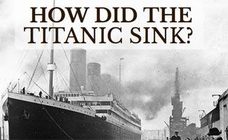 Old photo of Titanic