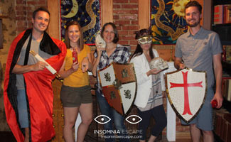 Our Team at Insomnia Escape Room DC