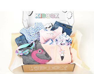KIDBOX box and contents