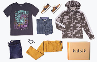 Kidpik box and contents