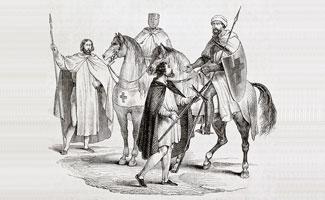 Knights Templar Illustration