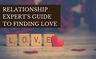 Love scrabble pieces (caption:  Relationship Expert's Guide To Finding Love)