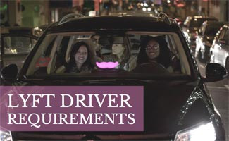 People riding in Lyft: Lyft Driver Requirements