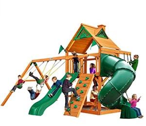 Mountaineer Cedar Play and Swing Set