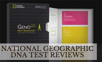 National Geographic DNA Test kit