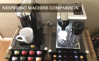 Best Nespresso Machines side by side (caption: Best Nespresso Machines Comparison)