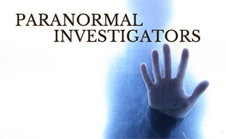 Ghost hand: Paranormal Investigators