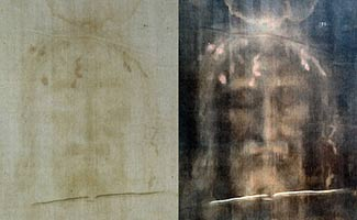 Shroud of Turin positive vs negative