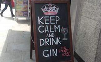 Street sign in London