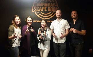 Team CSM at Tampa Bay Escape Room