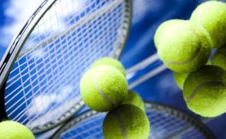 Tennis Racket with Balls