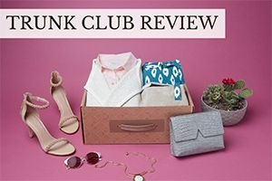 Trunk Box on table (caption: Trunk Club Review)