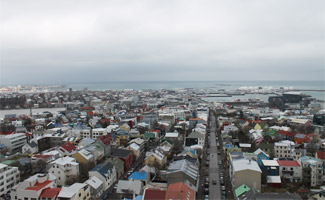 Hallgrimskirkja View from Top