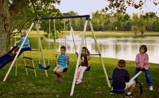 Flexible Flyer Swing Set